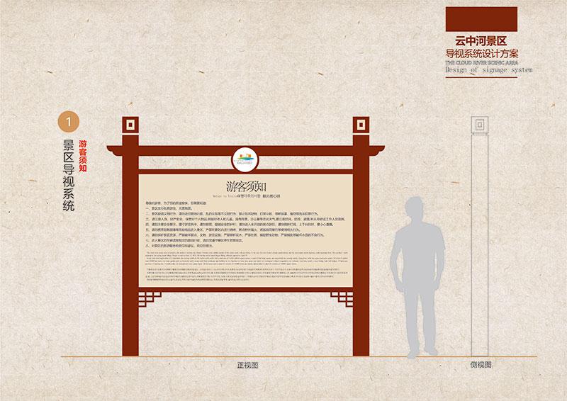 景区宣传栏设计