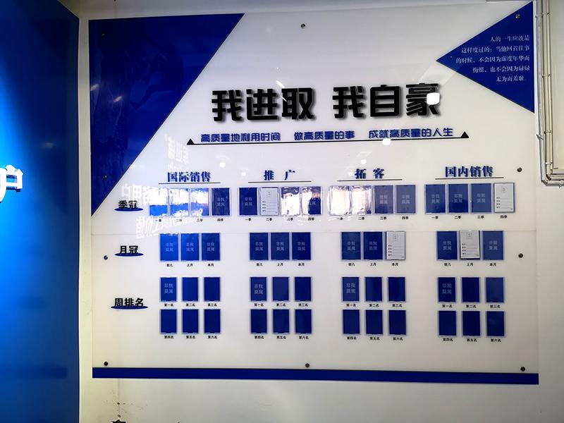 郑州标识牌厂家分享:浅谈企业文化墙