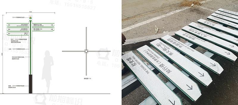 學校標識,學校導視標識系統g