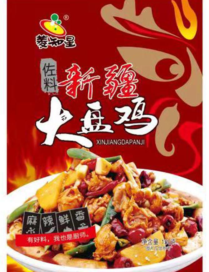 新疆大盘鸡150克