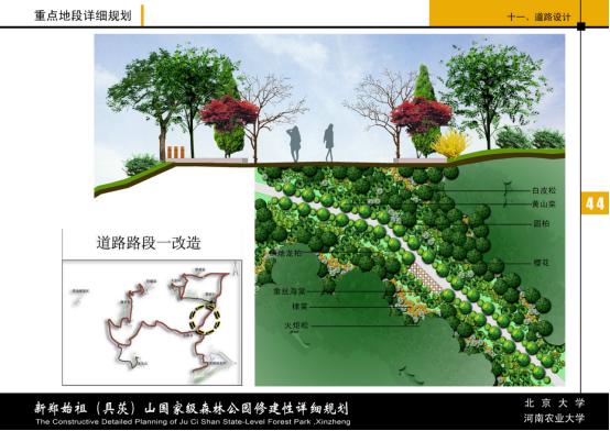 农业园区道路规划设计