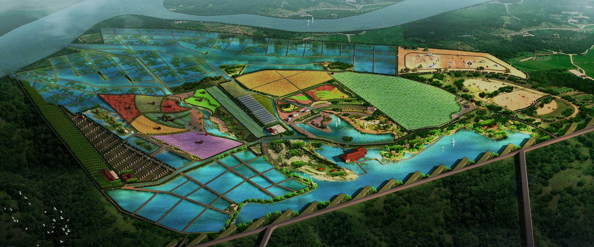 河南索凌黄河滩休闲农业生态园总体规划